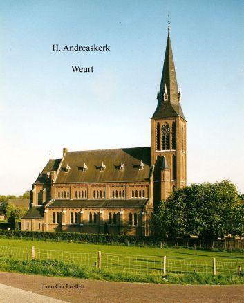 Foto van de St. Andreaskerk te Weurt